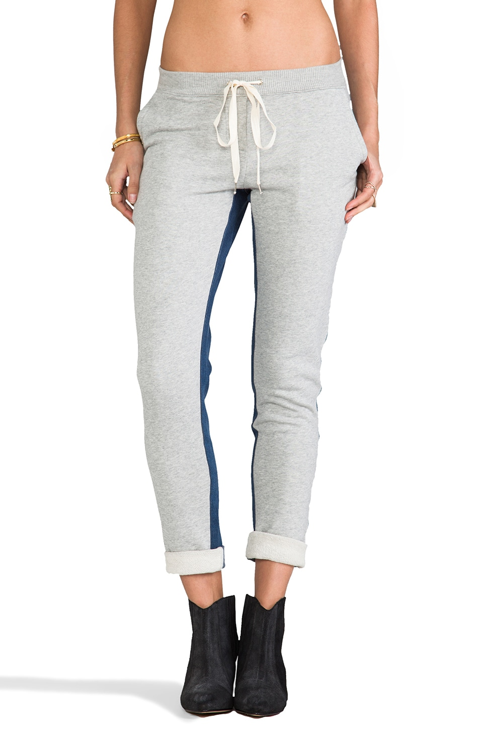 Funktional Blue Hour Track Pant in Grey/Denim
