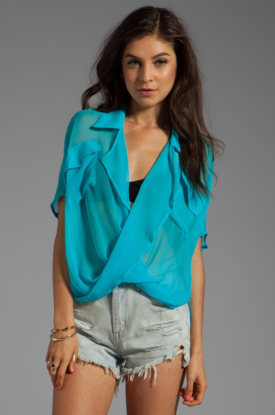 Funktional Micro Short Sleeve Fold Front