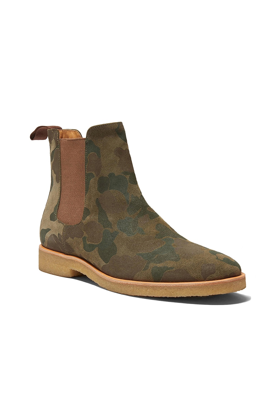 New Republic by Mark McNairy Houston Chelsea Boot in Camo