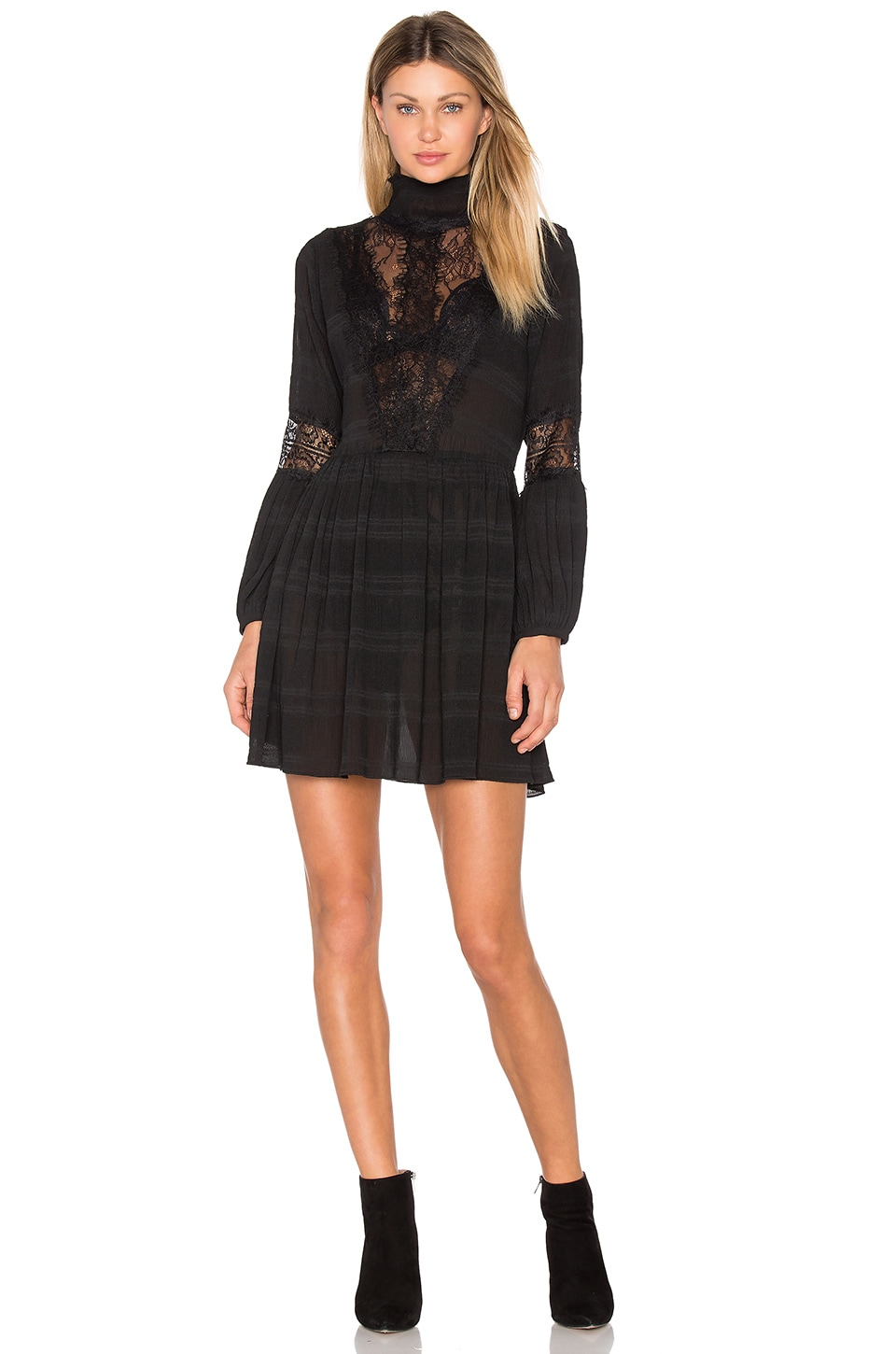 McKinney Pleat Lace Dress by Ganni