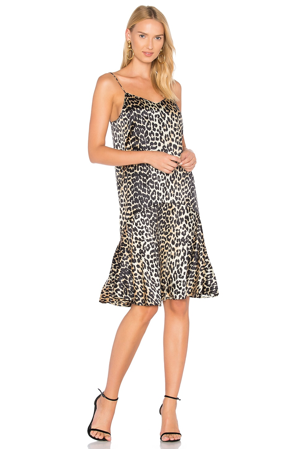 4d3115ee Ganni Dufort Dress in Leopard | REVOLVE
