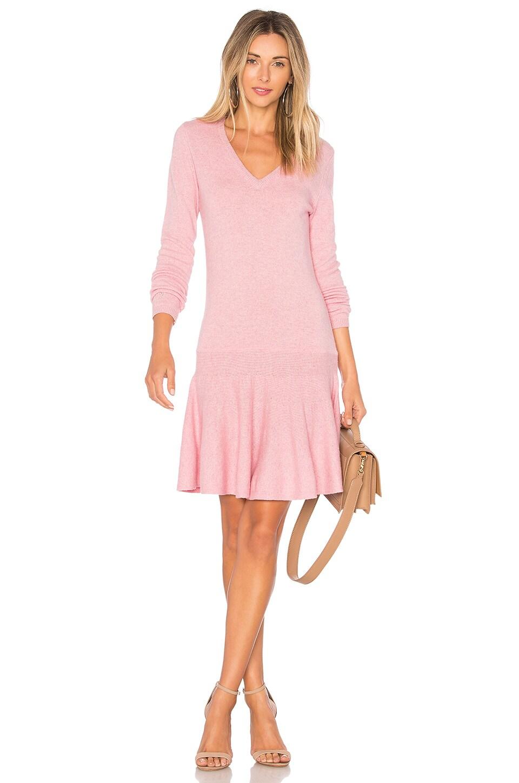 Ganni Mercer Dress in Sea Pink