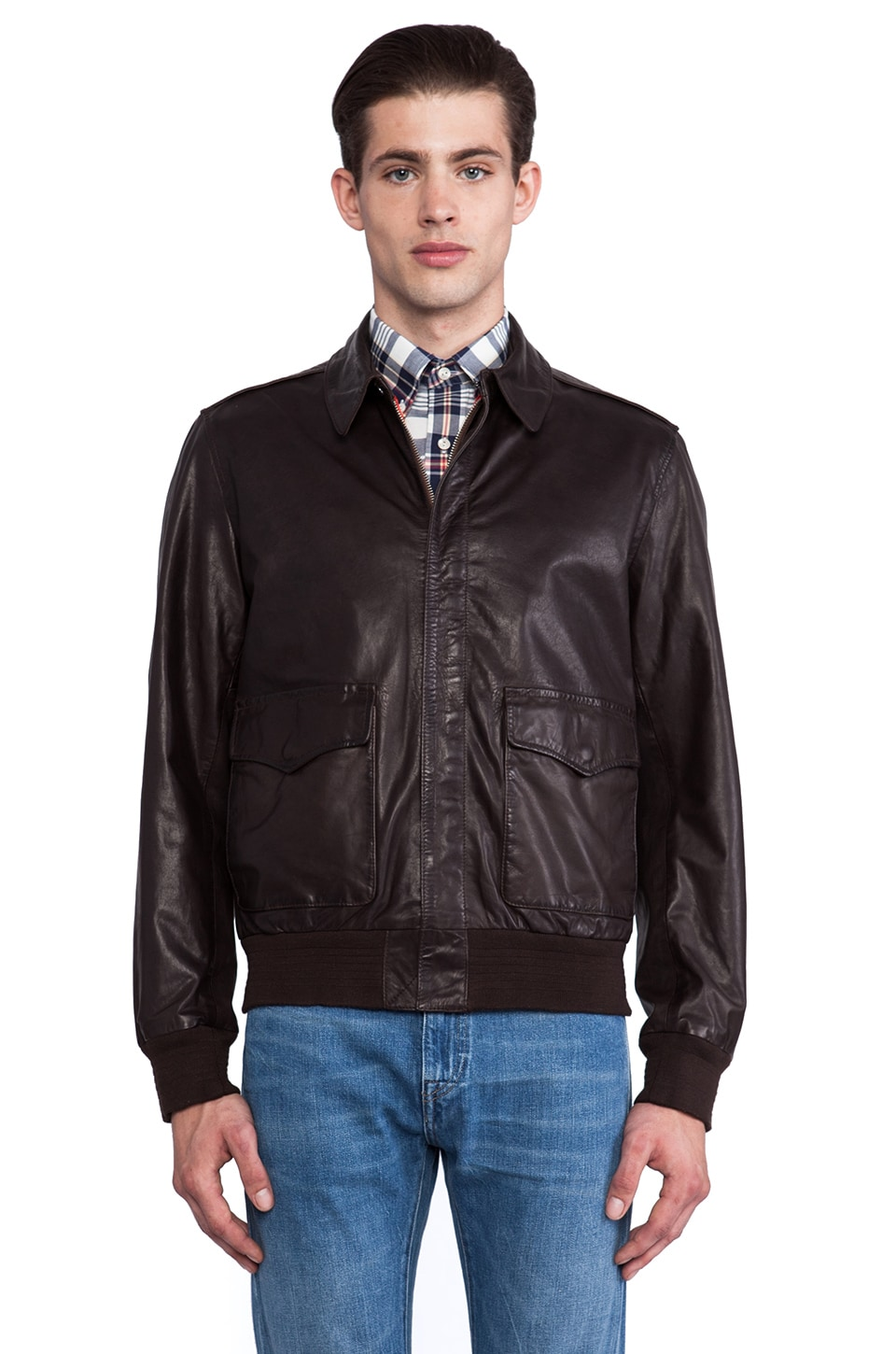 Gant The Lands Jacket in Brown