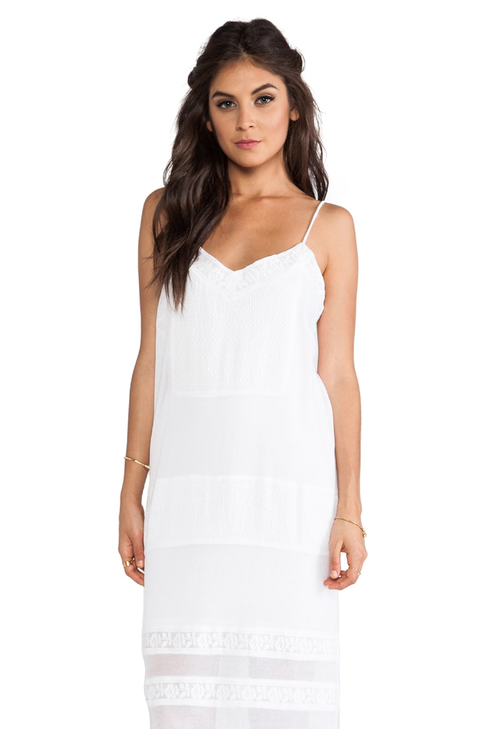 GAT RIMON Dasia Dress in Blanc