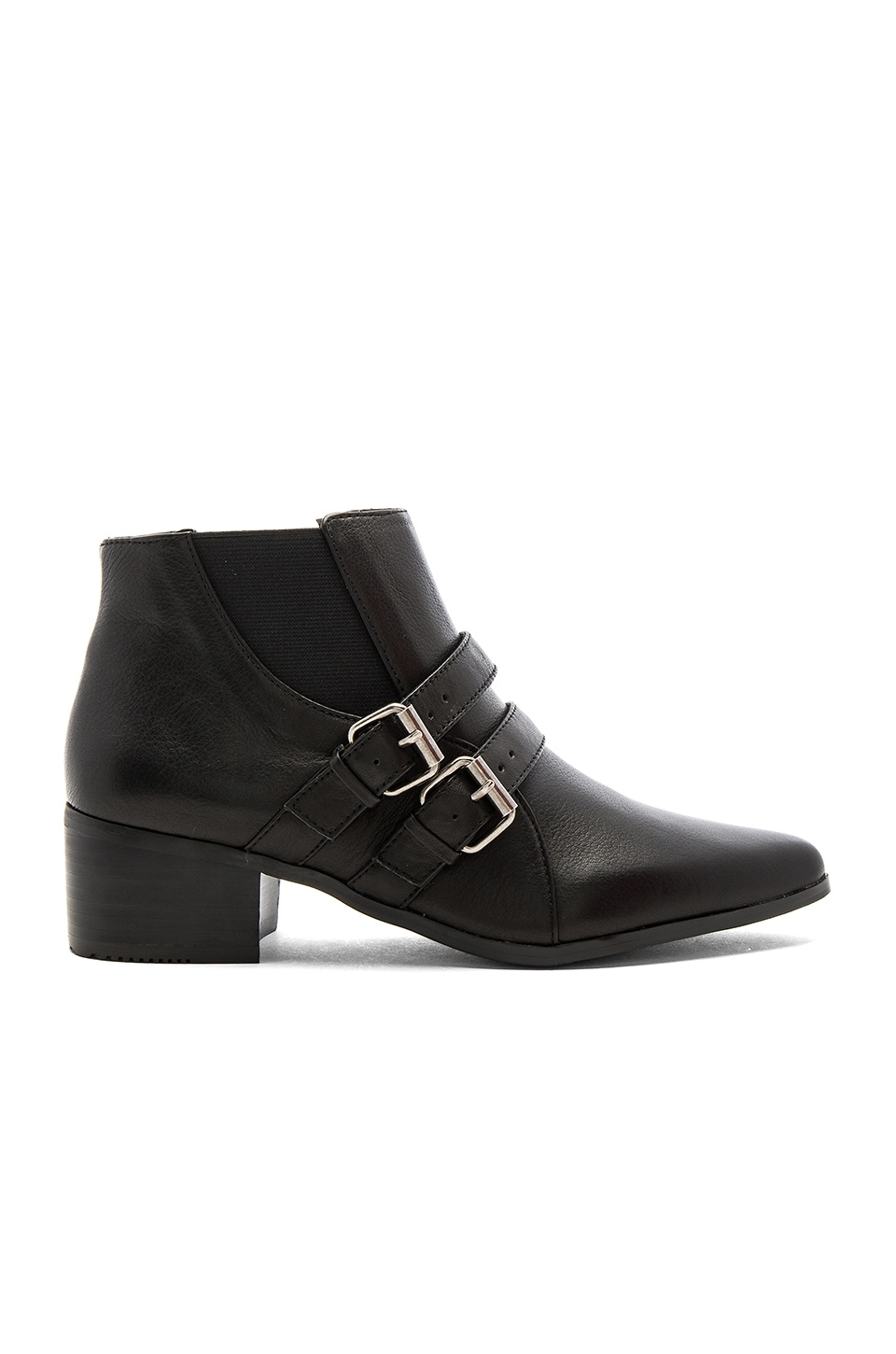 GREY CITY Wolf Bootie in Black