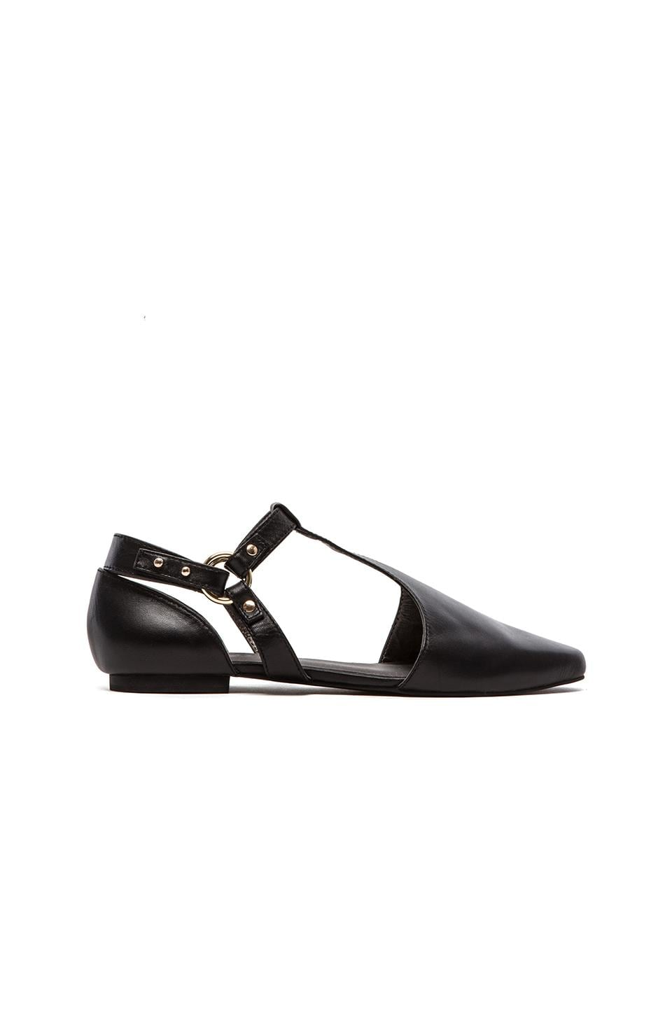 GREY CITY Sae Flats in Black
