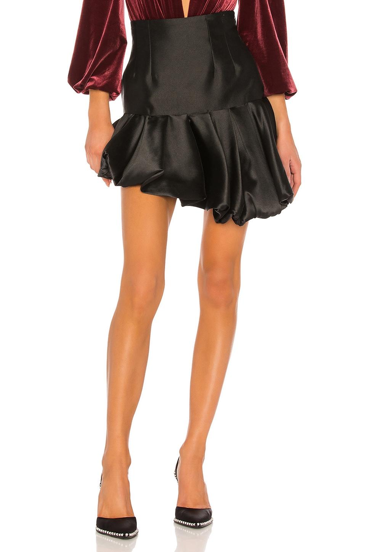 GIUSEPPE DI MORABITO Ruffle Skirt in Black