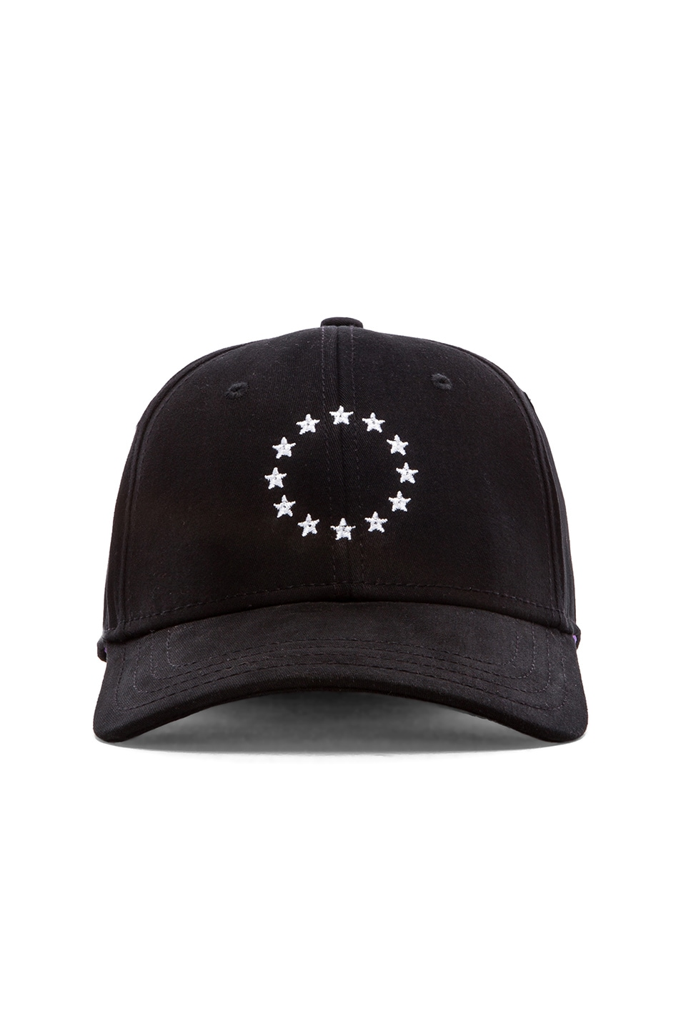 Gents Co. Collective Cap in Black White