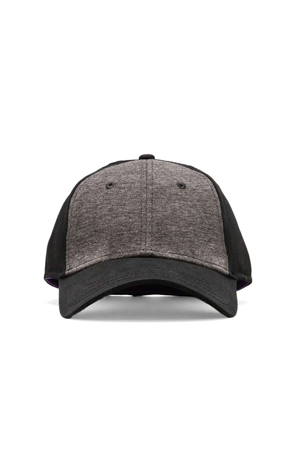 Gents Co. Jersey Knit Cap en Noir/Gris