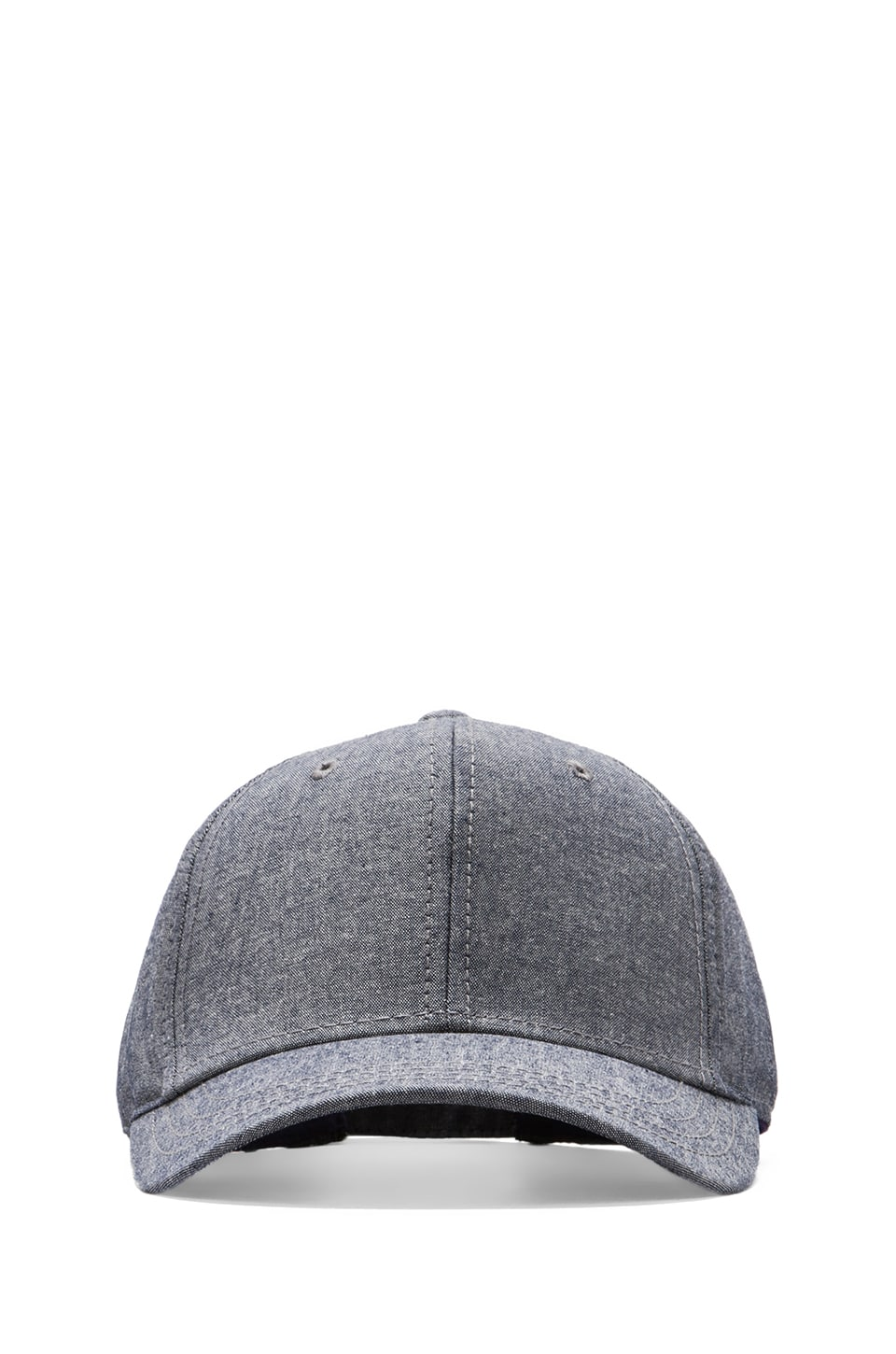 Gents Co. Throwback Chambray Cap in Blue
