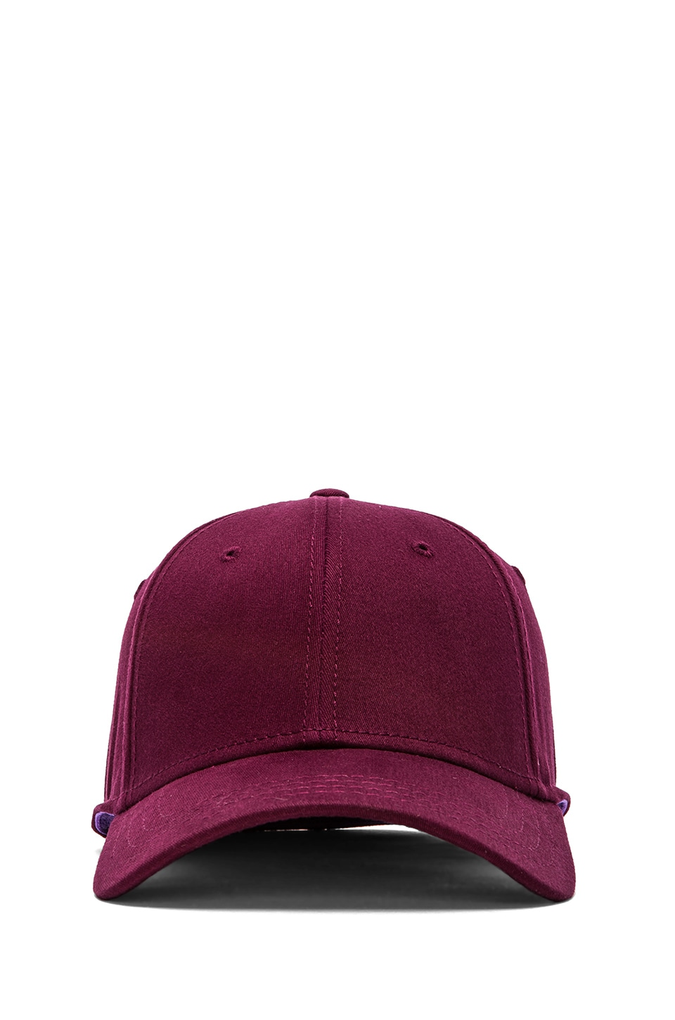Gents Co. Director's Cap in Maroon