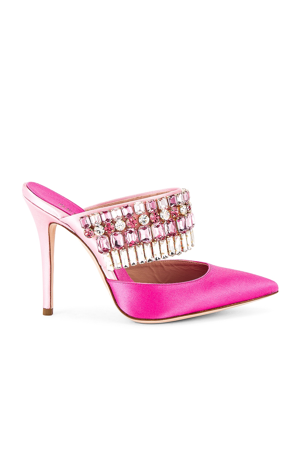 GEDEBE Morgan Heel in Fuxia & Pink
