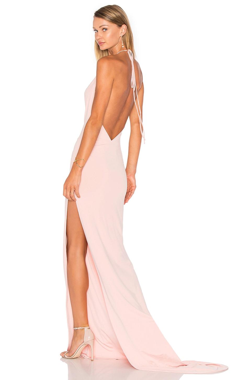 Gemeli Power Remy K Dress in Blush Pink