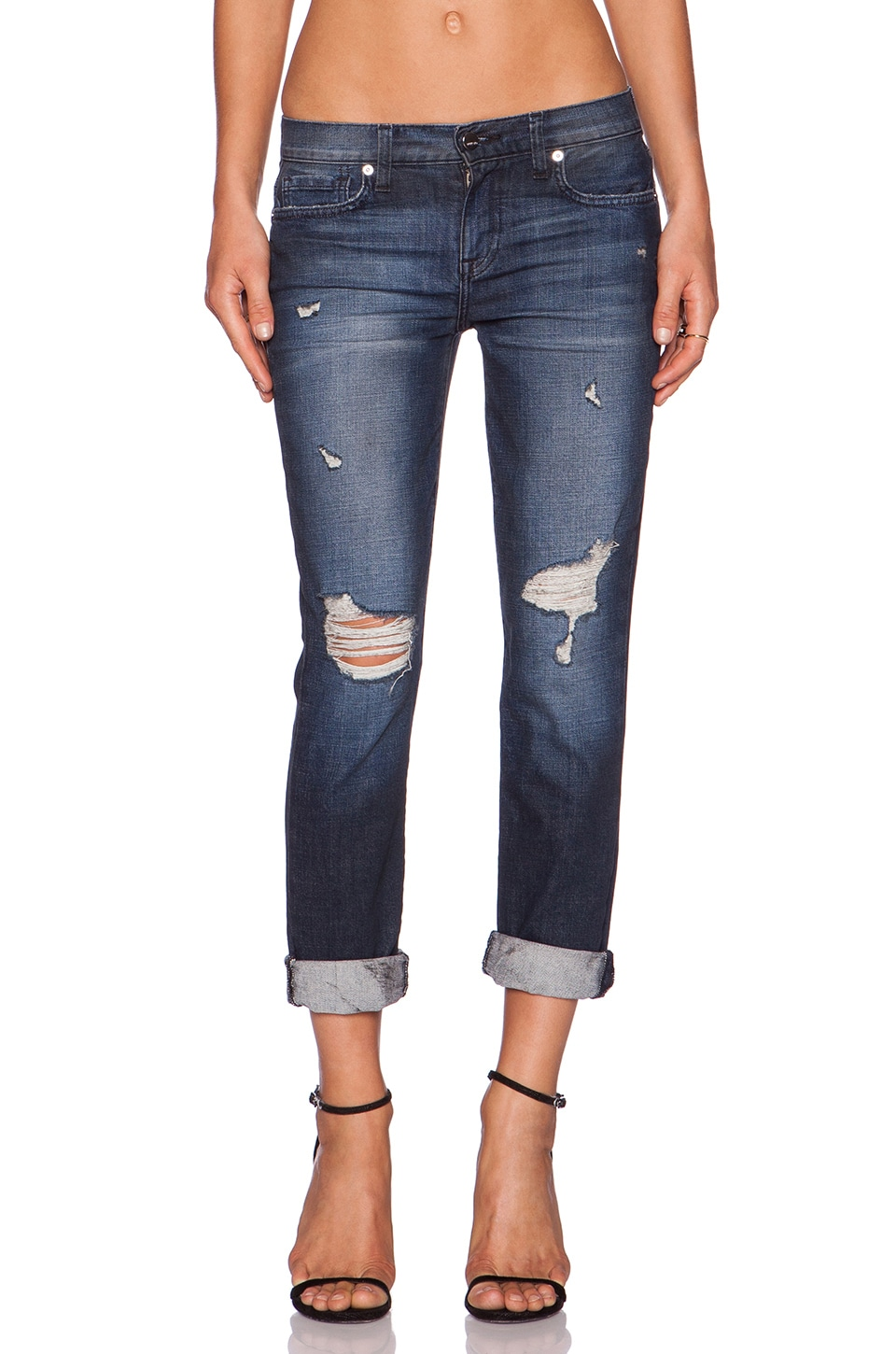GENETIC LOS ANGELES Genetic Denim Alexa Slim Boyfriend in Montage
