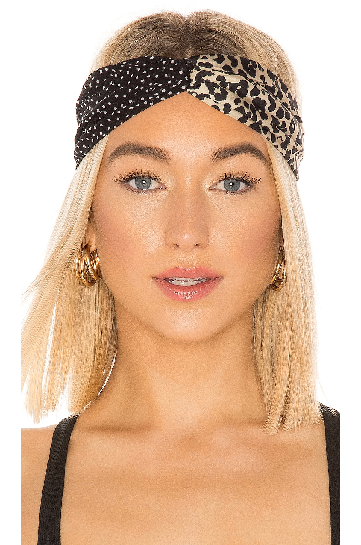 Genie by Eugenia Kim Penny Headband in Leopard