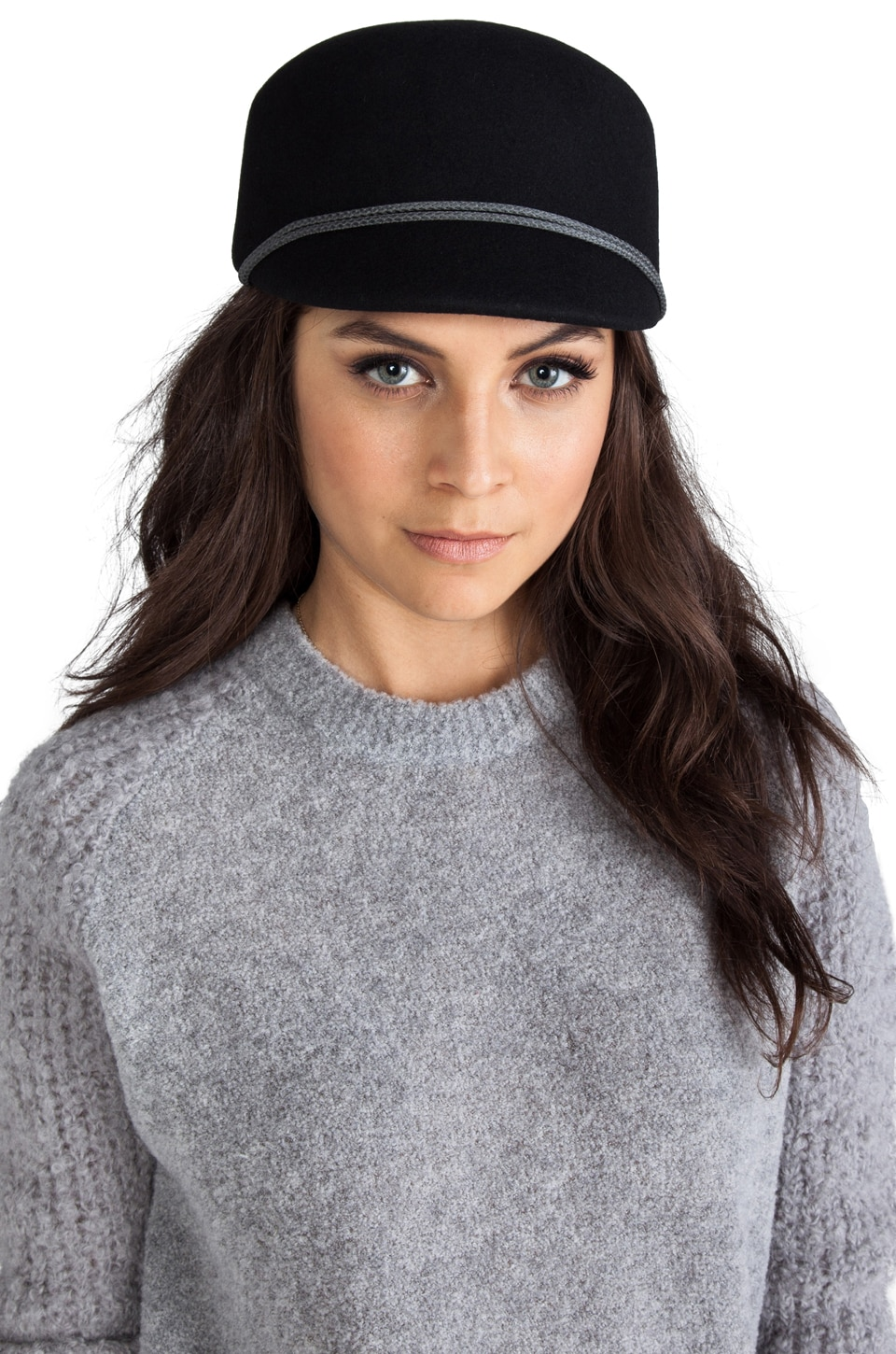 Genie by Eugenia Kim Bettina Hat in Black