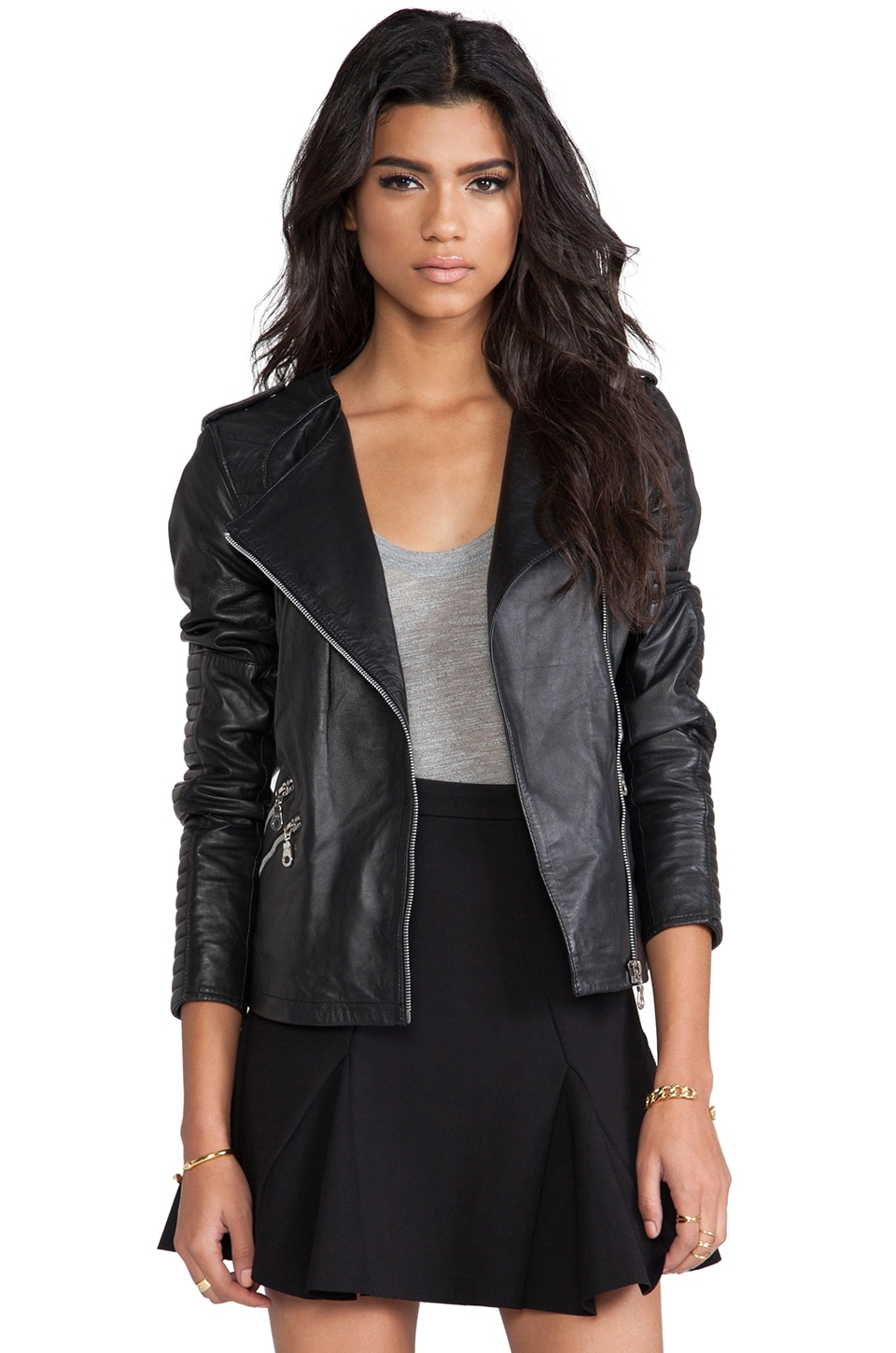 Gestuz Plexi Jacket in Black