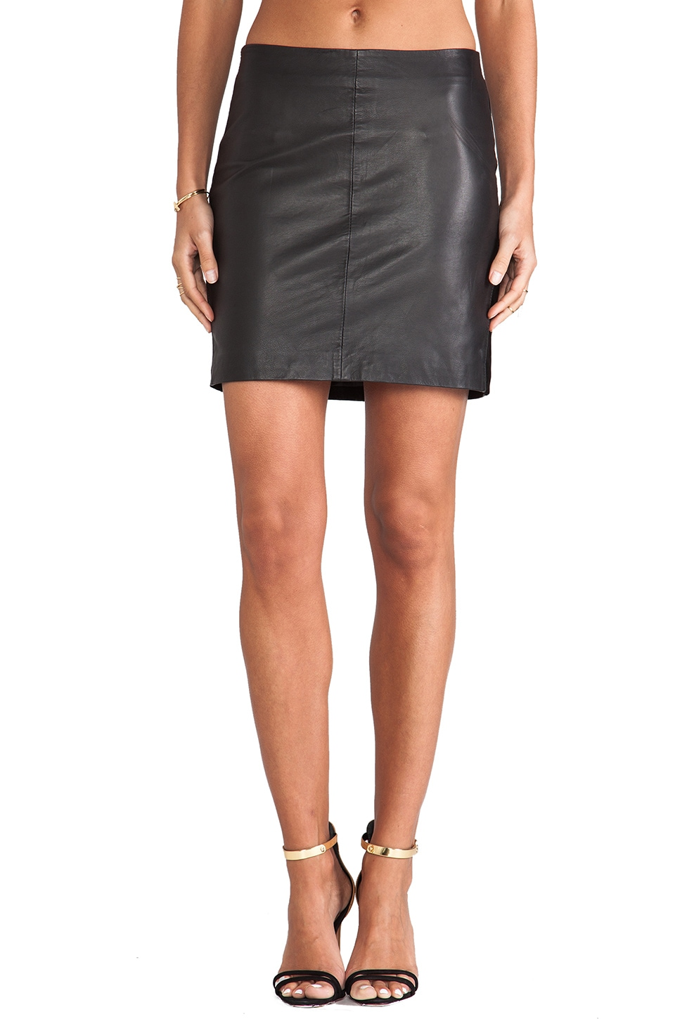 Gestuz Riann Skirt in Black