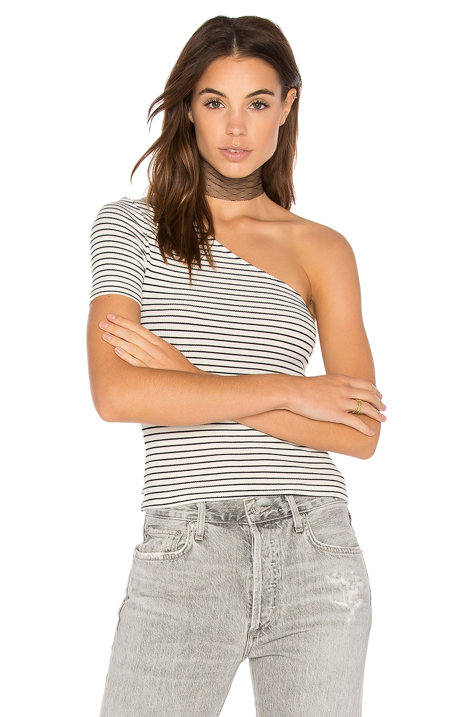 The One Shoulder Top by GETTINGBACKTOSQUAREONE