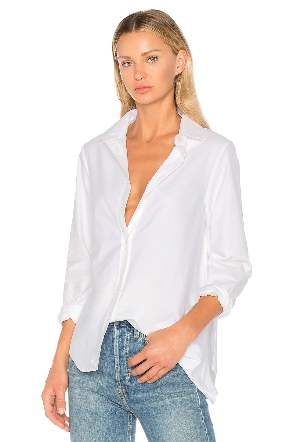 Golden Goose Golden Shirt in White