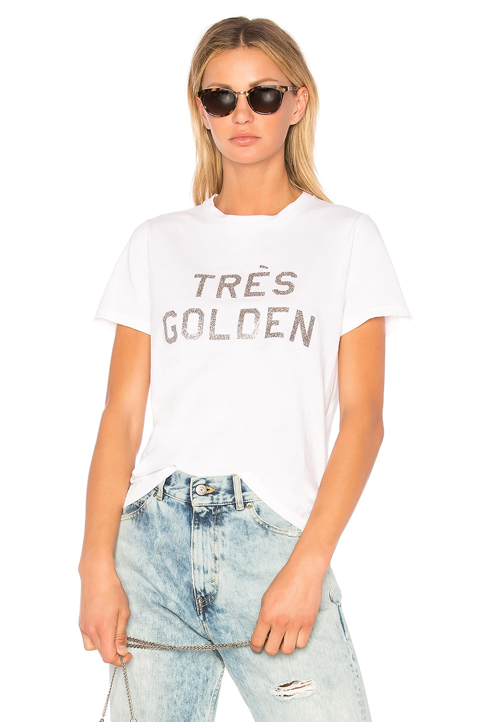 Golden Goose Cindy Tee in White