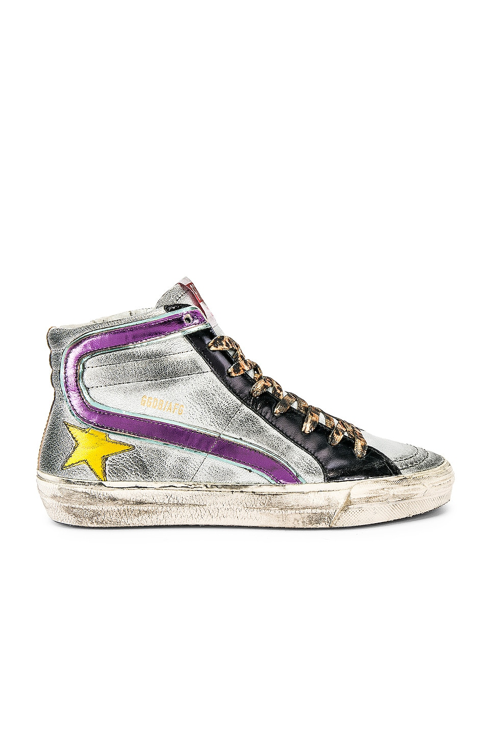 Golden Goose Slide Sneaker in Rainbow