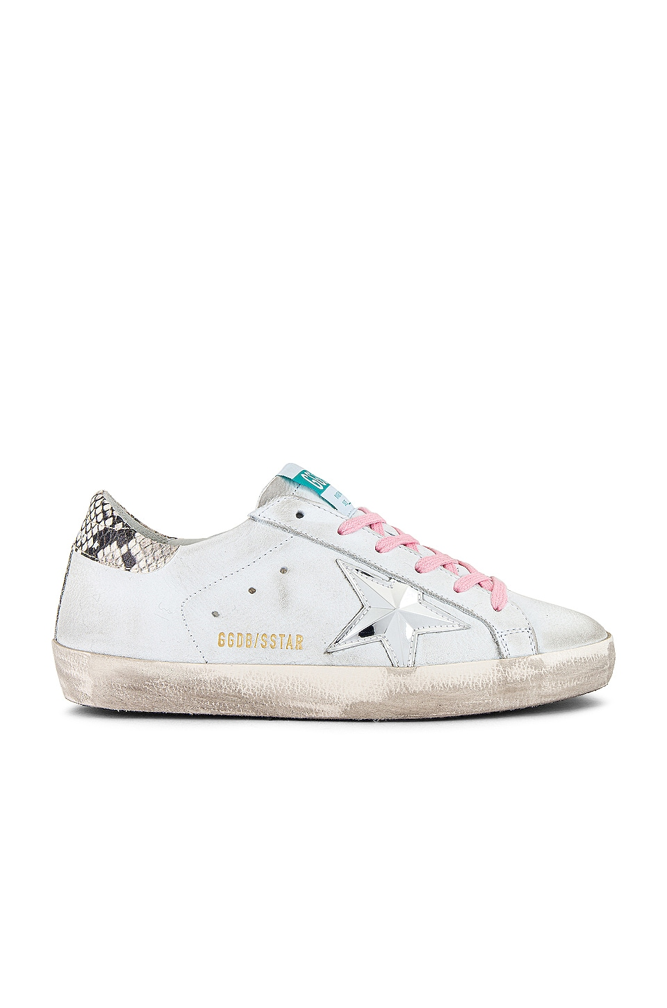 Golden Goose Superstar Sneaker en White Nabuk & 3D Star