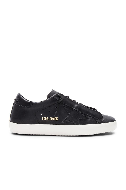 Golden Goose Superstar Sneaker in Smock Black