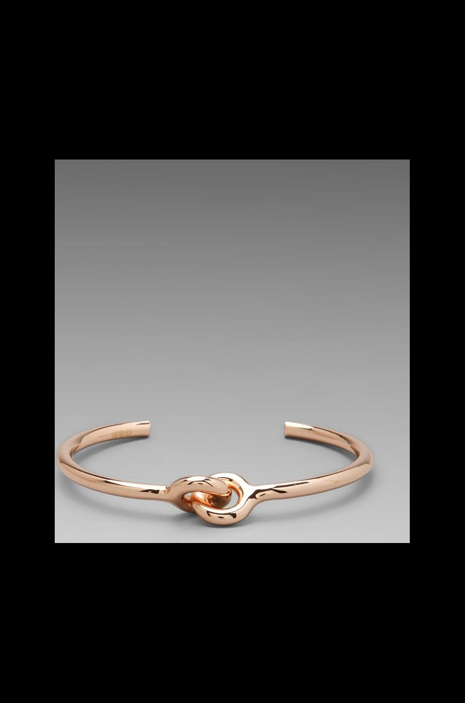 Giles & Brother Skinny Archer Cuff in Rose Gold Finish