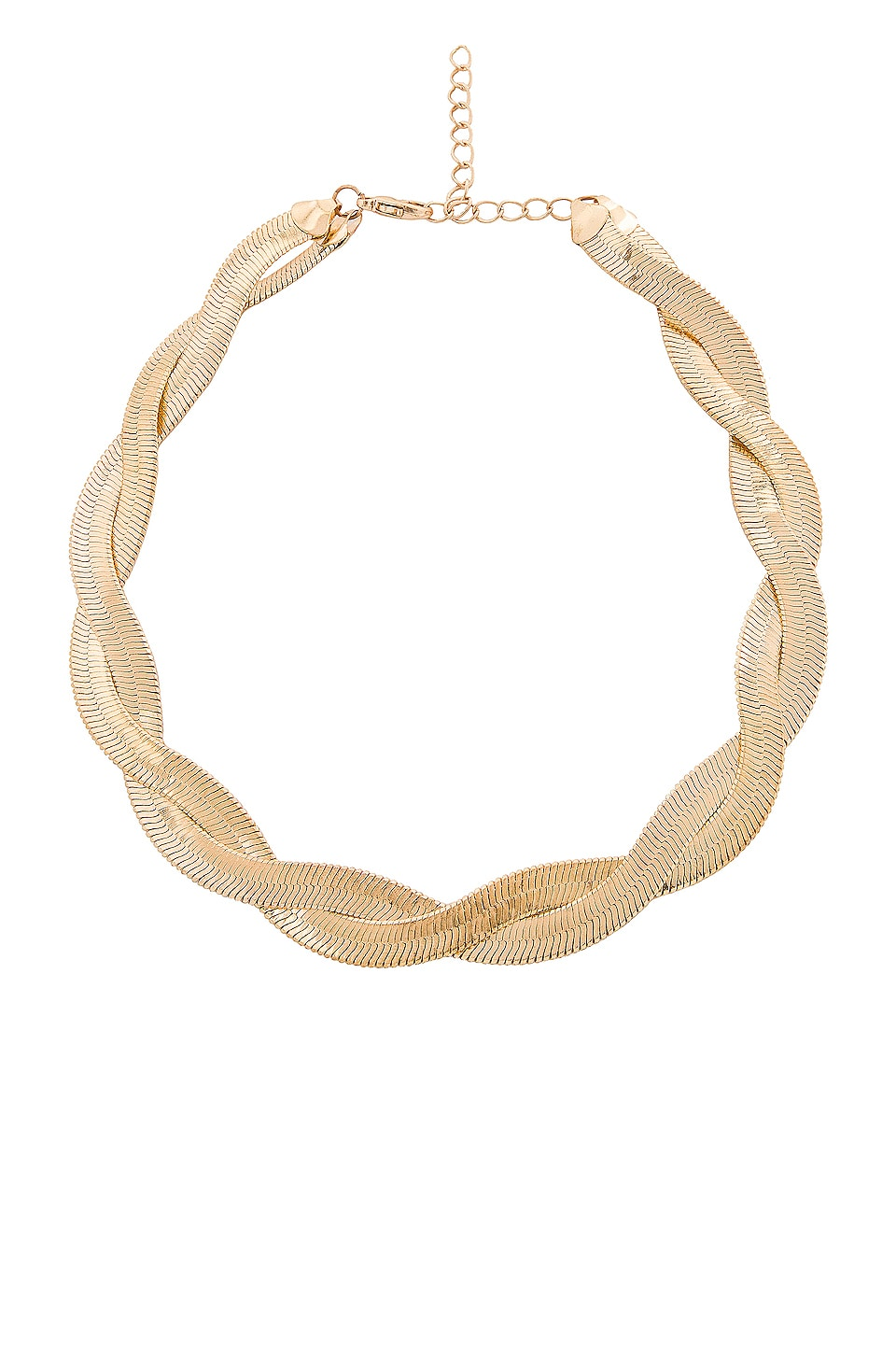 EIGHT by GJENMI JEWELRY Braid Me Up Choker in Gold