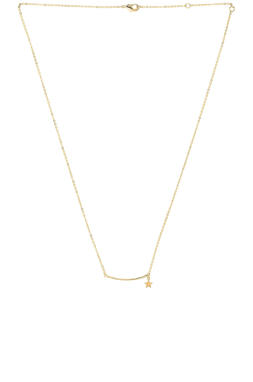 EIGHT by GJENMI JEWELRY Shooting Star Necklace in Gold
