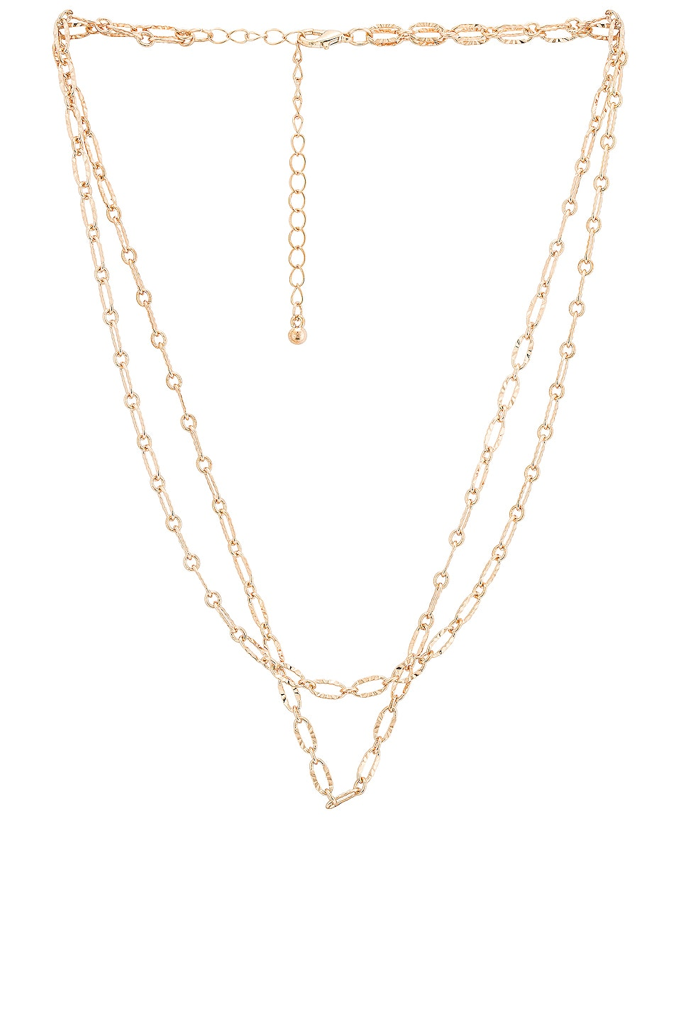 EIGHT by GJENMI JEWELRY Peter Layering Necklace in Gold