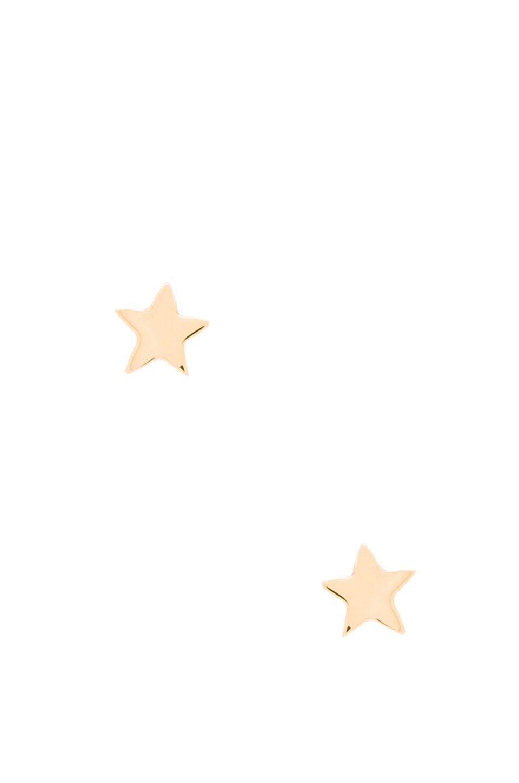 EIGHT by GJENMI JEWELRY Star Stud Earring in Gold