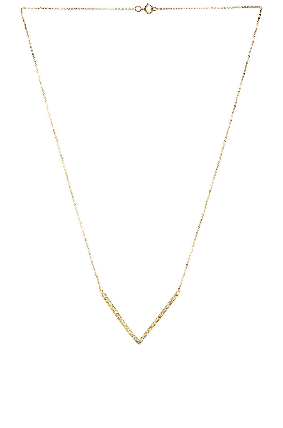 EIGHT by GJENMI JEWELRY V Necklace in Gold