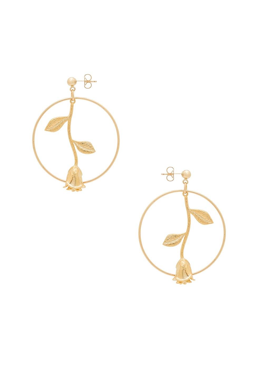 Knot Earring in Metallic Gold Gjenmi Jewelry zDlGhsOfjF
