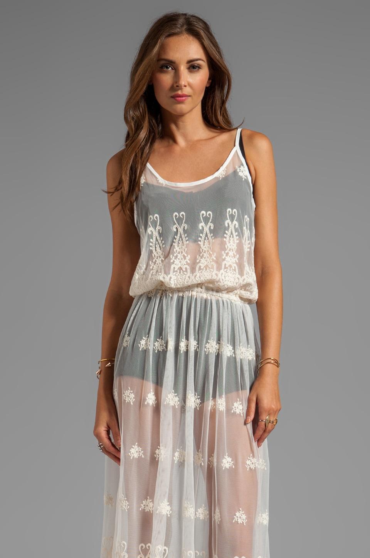 Gypsy Junkies Sasha Maxi Lace Dress in Natural