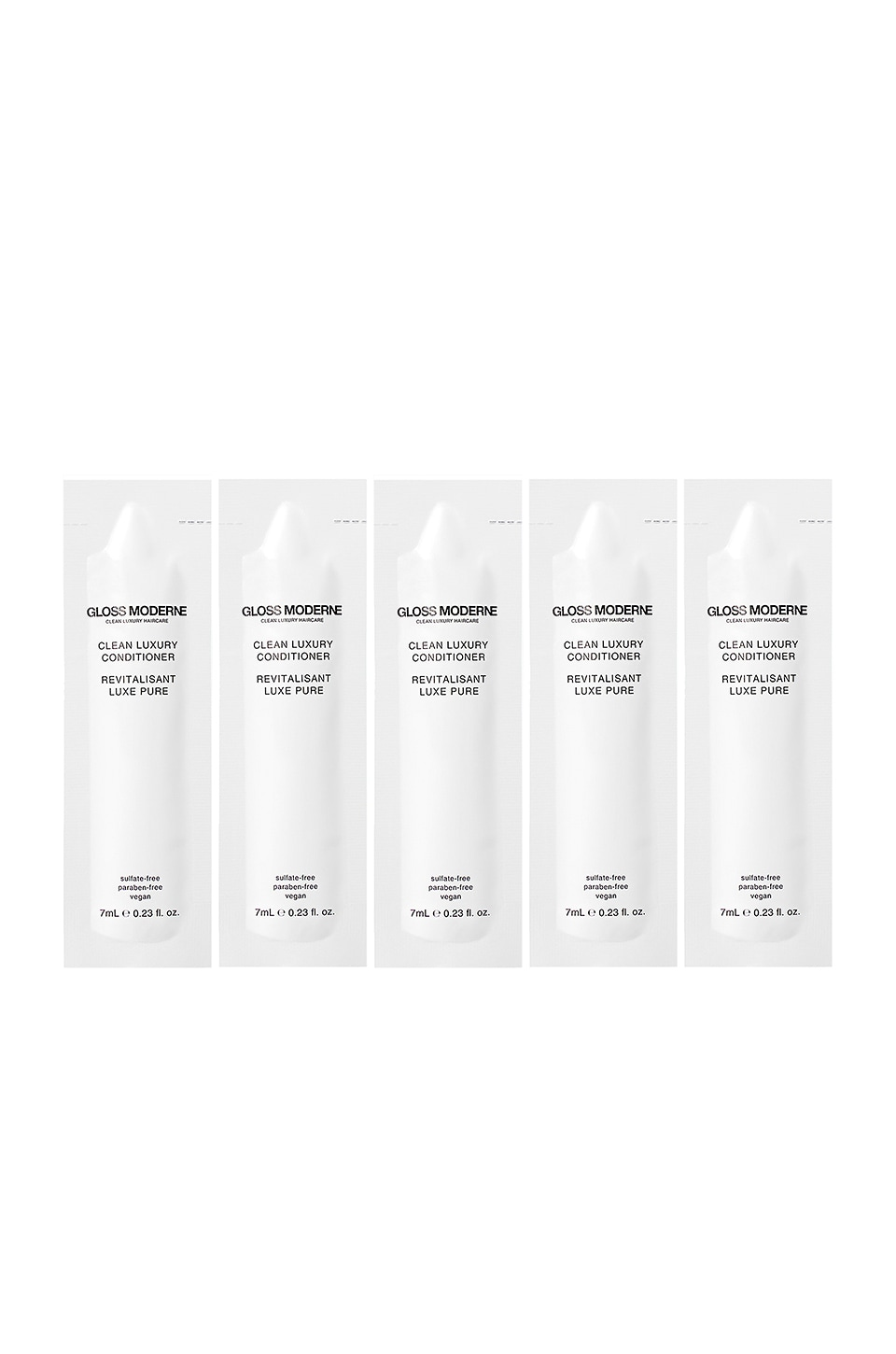 GLOSS MODERNE Clean Luxury Travel Conditioner 5 Pack