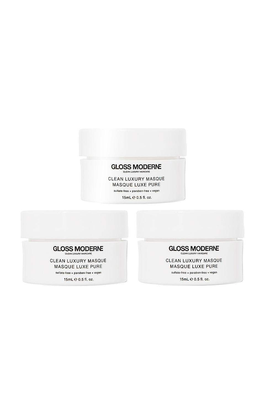GLOSS MODERNE Clean Luxury Travel Masque Trio