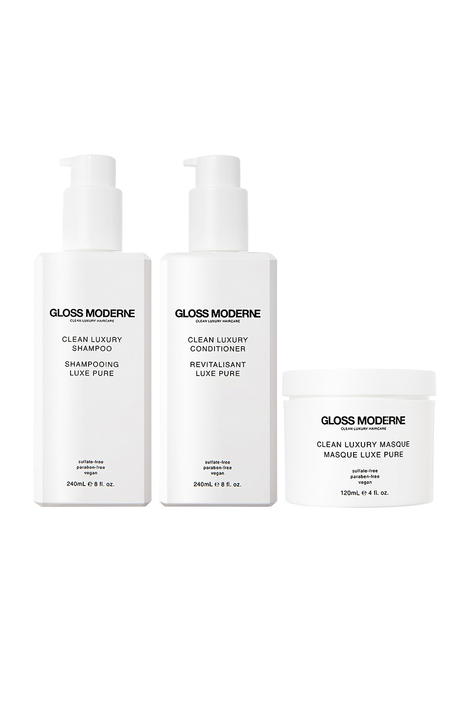 GLOSS MODERNE CLEAN LUXURY ヘアケアセット