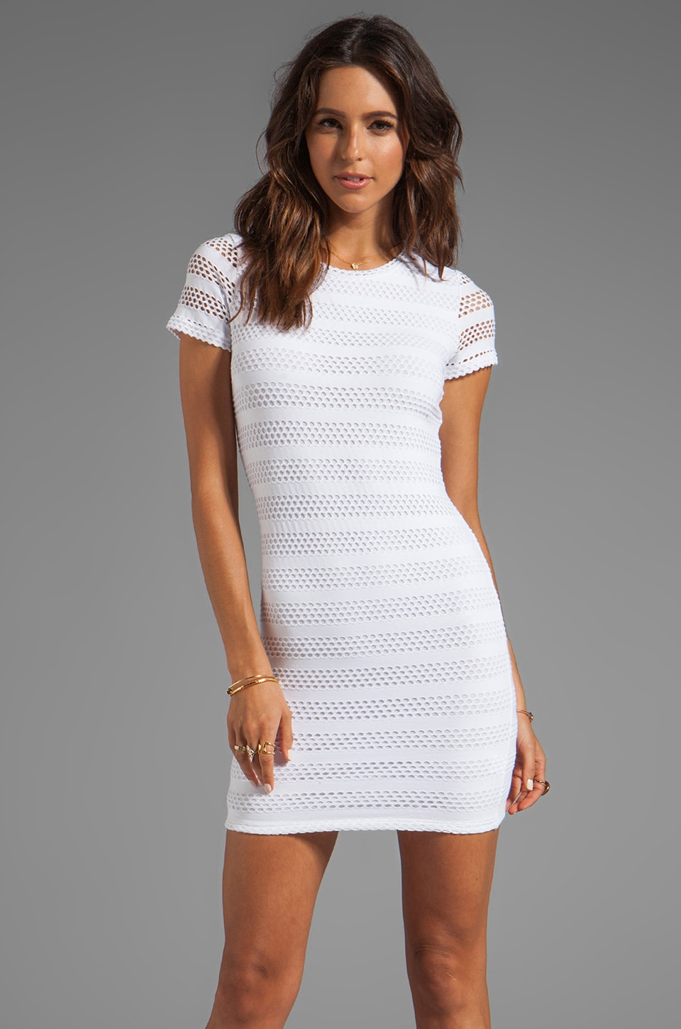 Generation Love Tory Eyelet Dress in White