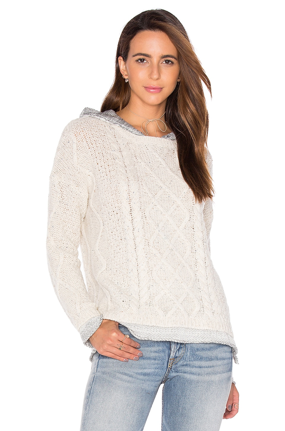 Phoebe Cable Knit Sweater by Generation Love