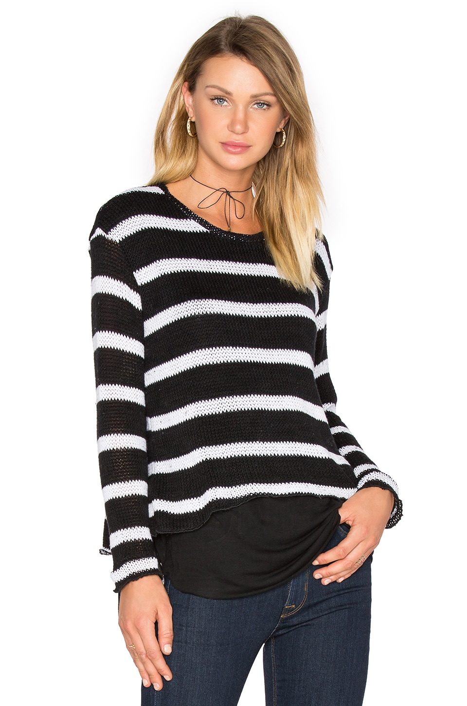 Molly Stripes Sweatshirt by Generation Love