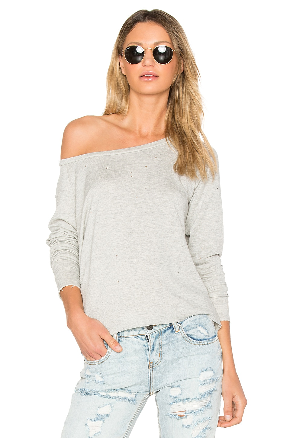 Vanessa Holes Sweatshirt by Generation Love