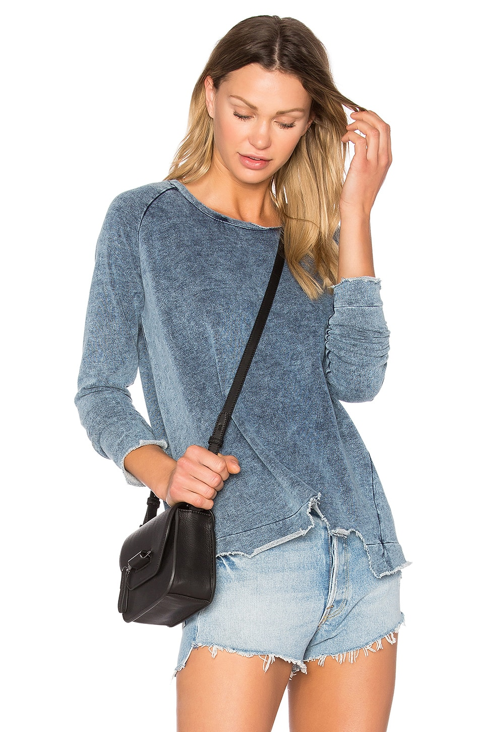 Brook Indigo Sweatshirt by Generation Love