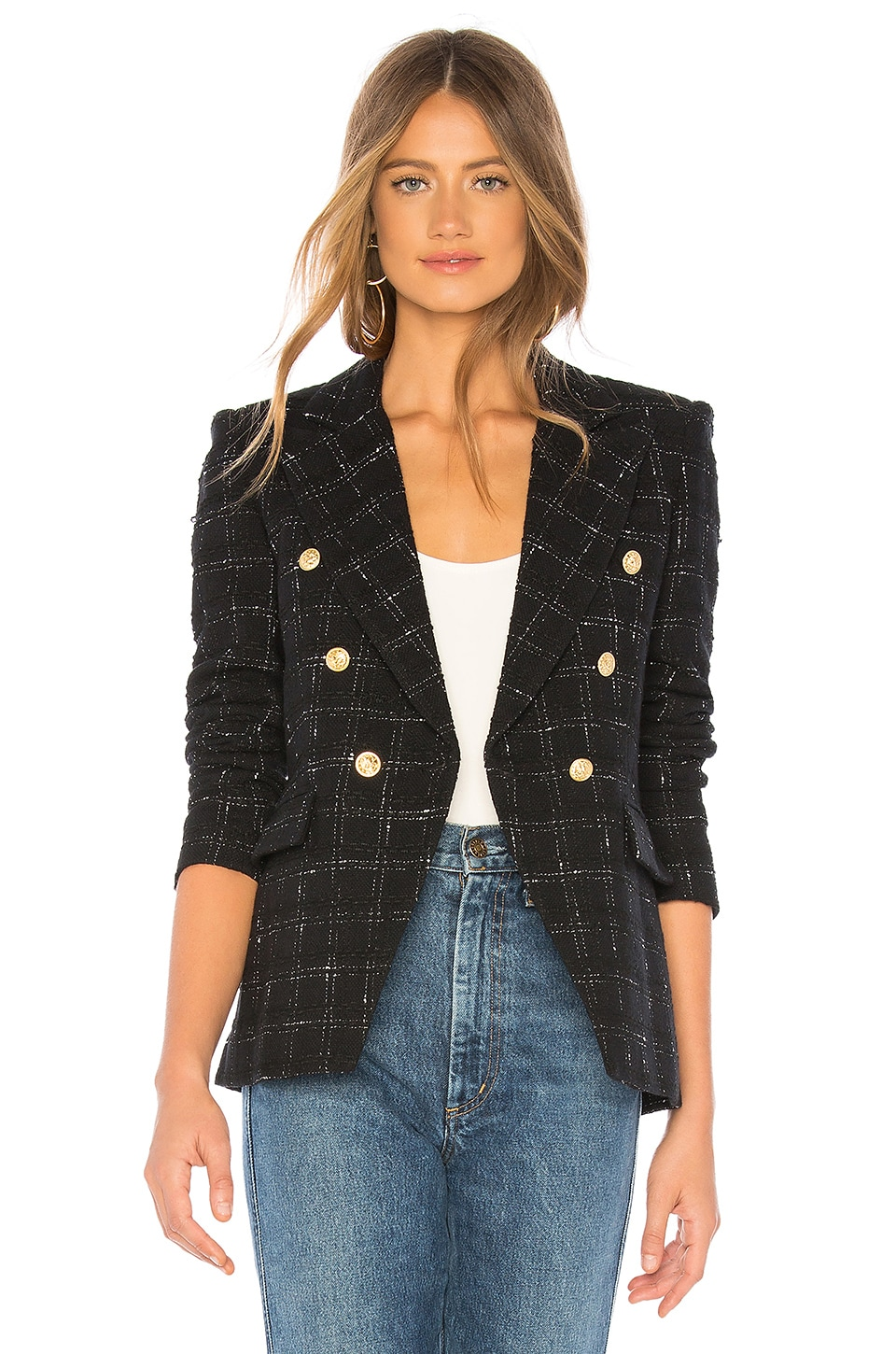 Generation Love Alexa Blazer en Black & White