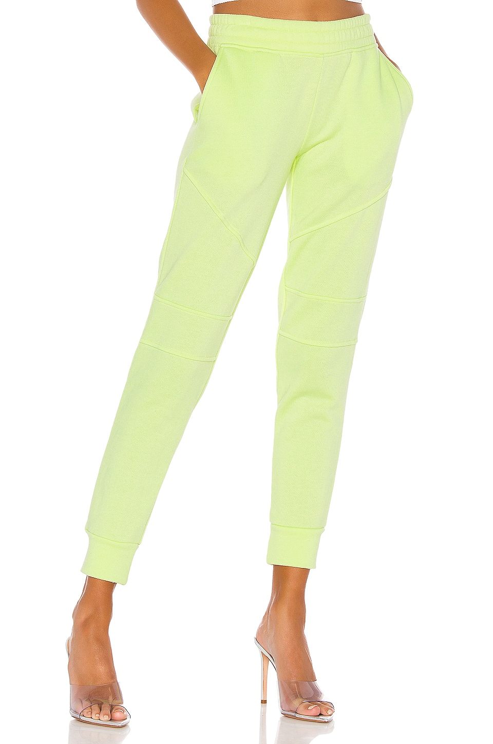 Generation Love Coco Sweatpant in Neon Yellow