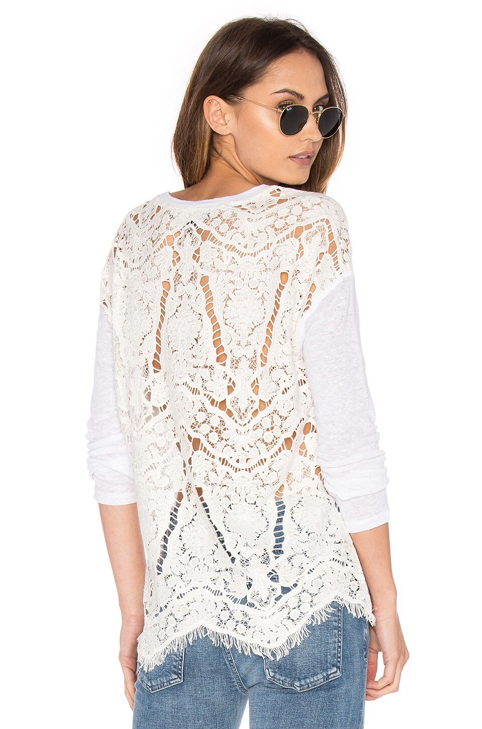 Nyla Embroidered Top by Generation Love