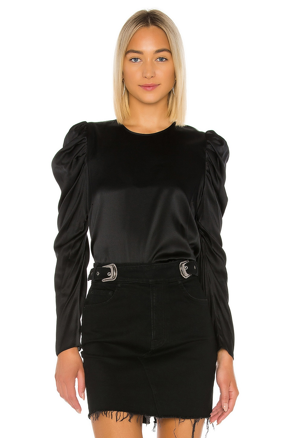 Generation Love Penelope Blouse in Black