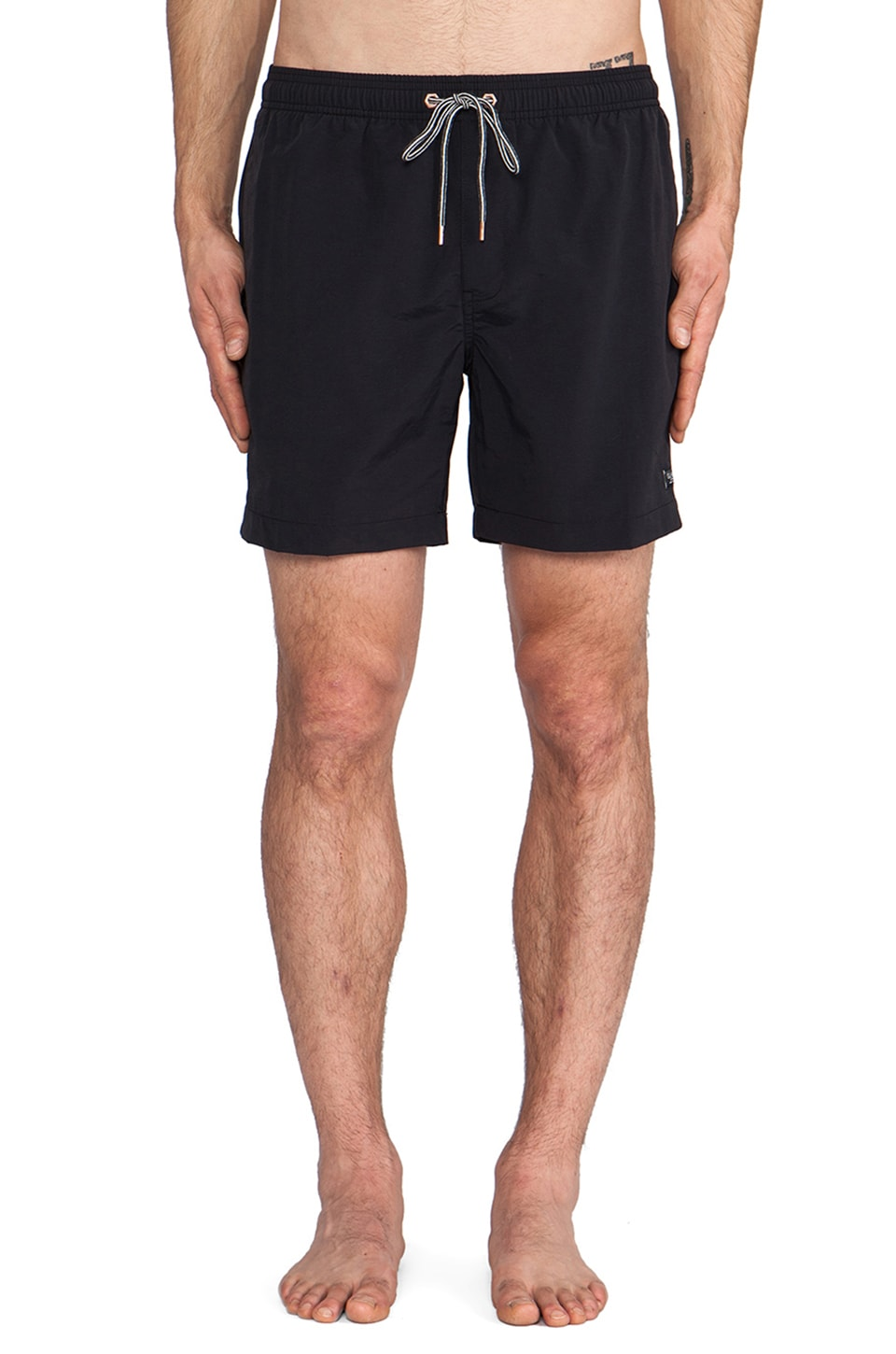 Globe Dana III Poolshort in Black
