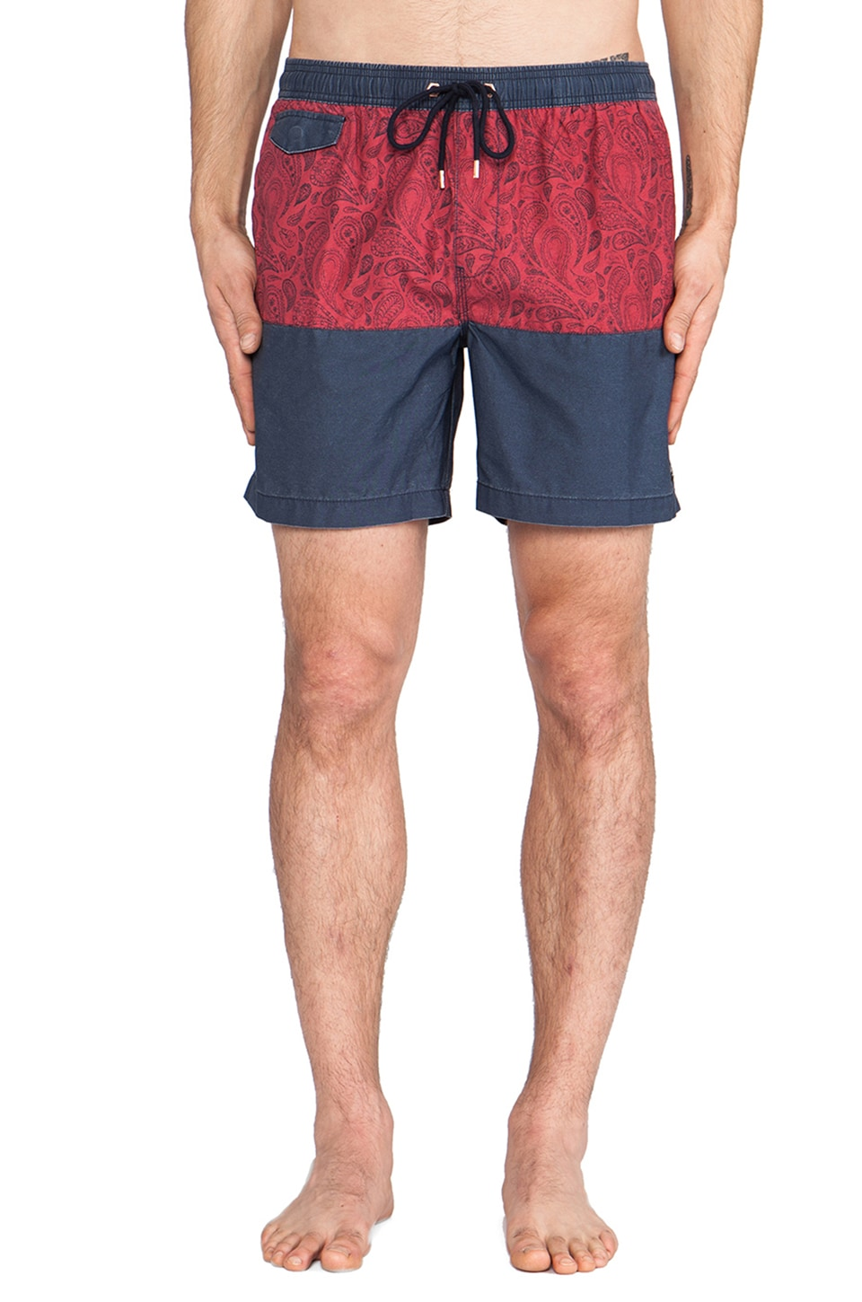 Globe Palme Boardshort in Navy